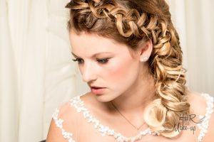 Romantische Frisur